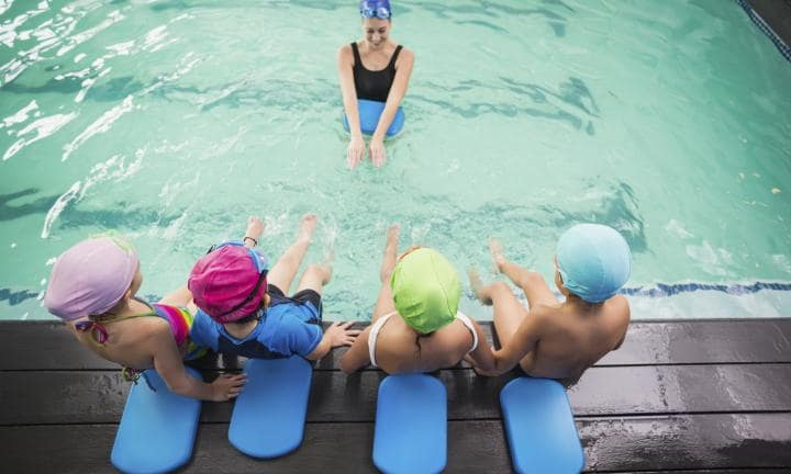 When is the best time to start swimming lessons?