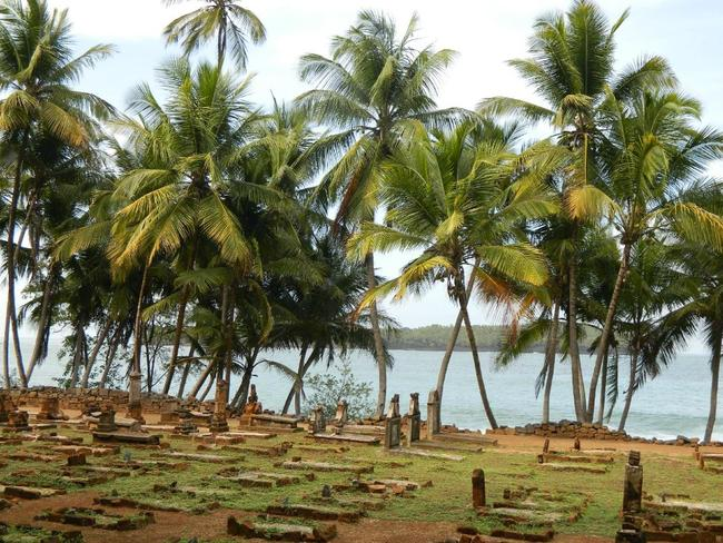 Graves on the island, though most prisoners were dumped at sea if they died. Picture: A TripAdvisor traveller