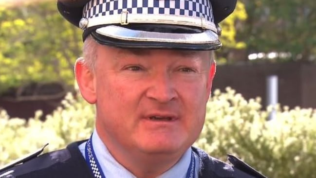 Police officers have been quick to condemn the 'reckless, and dangerous' reveal. Picture: 9 News