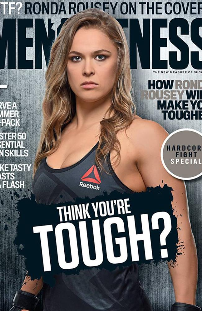 Why Was Rousey On The Cover Of Ring Magazine