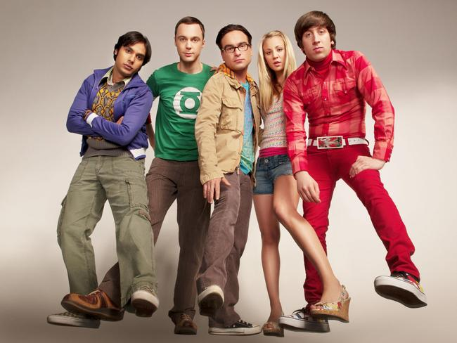 Uncertain future …  <i>The Big Bang Theory</i>.