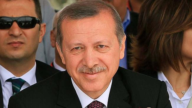 Crackdown ... Turkish Prime Minister Recep Tayyip Erdogan confirmed he personally ordered the block on Twitter. Picture: AFP
