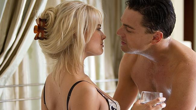 Rising star ... Margot Robbie plays Belfort's wife Naomi in the film. Picture: Roadshow Films