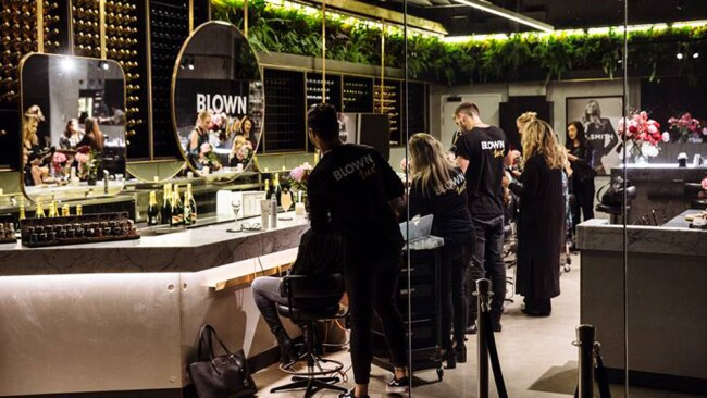Image: Supplied. Blown Lux Blow Dry Bar in Barangaroo