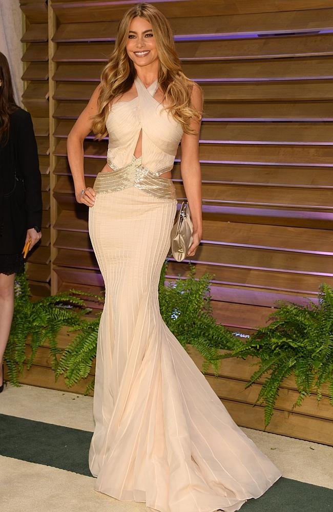 Sofia Vergara attends the 2014 Vanity Fair Oscar Party, on Sunday, March 2, 2014, in West