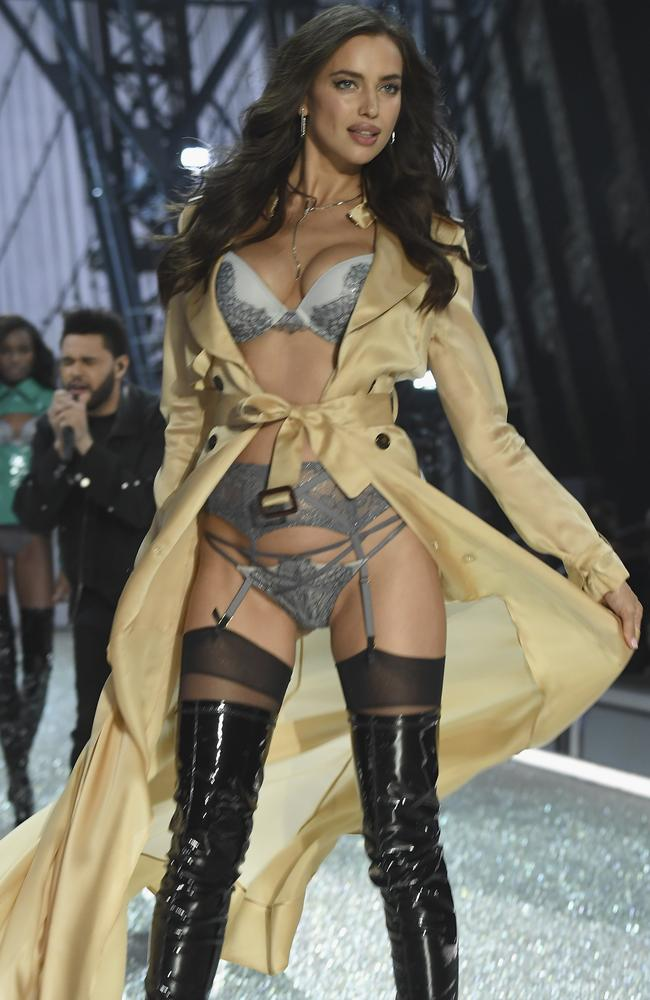 Irina Shayk on the runway at Victoria's Secret's 2016 Fashion Show in Paris, France. Pascal Le Segretain/Getty Images
