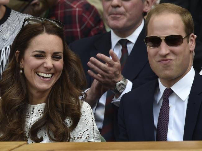 At least Kate and William can see the funny side.