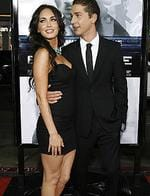 "<p>Cast member Shia LaBeouf (R) poses with actress Megan Fox at the premiere of the movie ""Eagle .Eye"" at the Grauman's Chinese theatre in Hollywood.</p>"