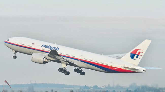 The Malaysia Airlines Boeing 777-200ER that disappeared from air traffic control screens on Saturday