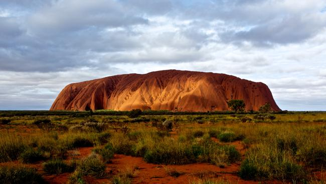 Uluru. One of the places Melbourne videographer Eddie Hobson visited to capture the Made in Australia timelapse video.