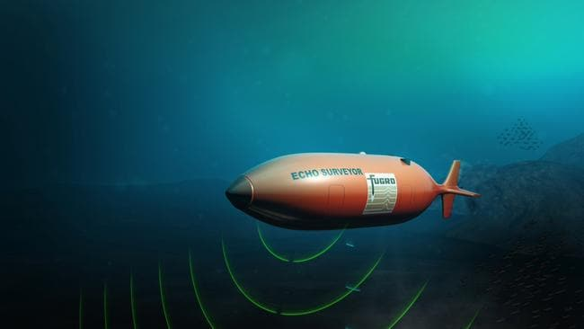 Autonomous underwater vehicles could be used to map the ocean floor.