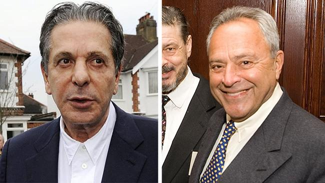 Fight club ... Playboys Charles Saatchi, left, and Taki Theodoracopulos.