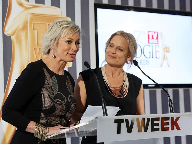 Amanda Keller and Shaynna Blaze hosted the TV Week Logie Awards Nominations Party.