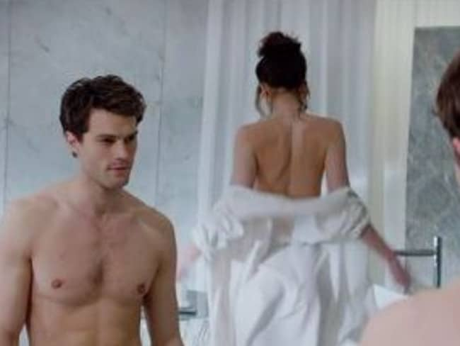 Plenty of fans...More than 32 million people have viewed the Fifty Shades of Grey trailer in one week. Picture: Supplied