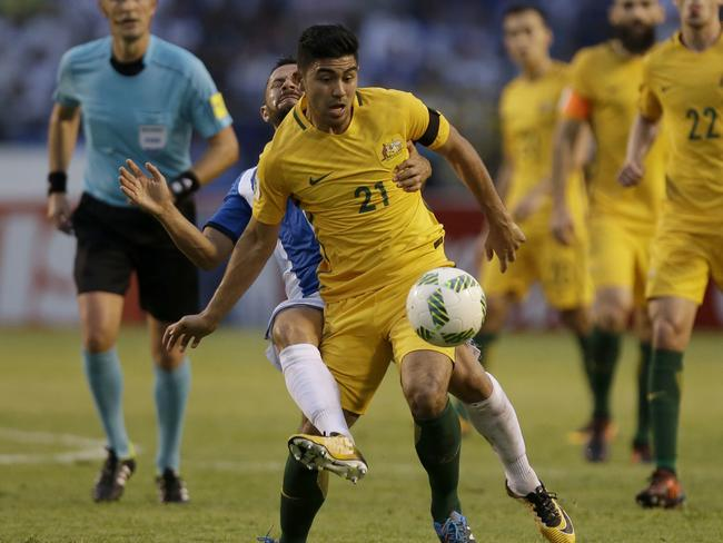 Massimo Luongo couldn't find the back of the net.