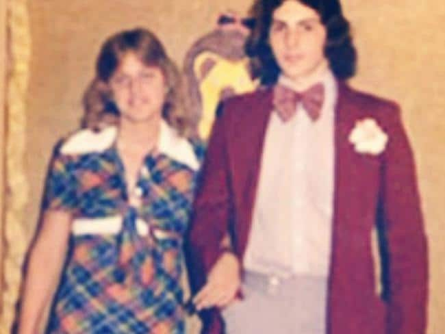 Ellen Degeneres - Whether it's her dress-come-school-uniform, her mullet, her date, or a combination of all three, Ellen's unusually glum expression indicates she didn't need the benefit of hindsight to know things were totally awry here. Picture: Supplied