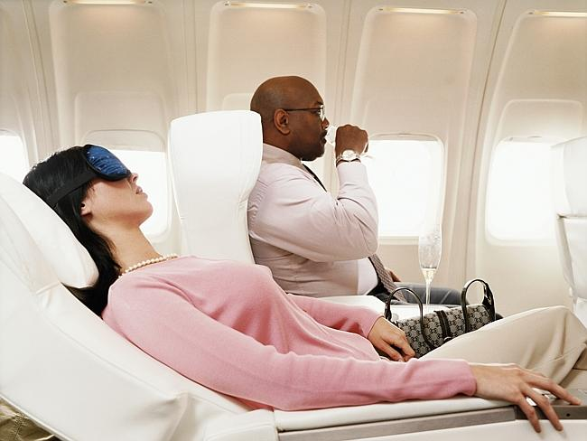 Reclining your seat is fine in first class, but what about when in economy? Picture: Thinkstock