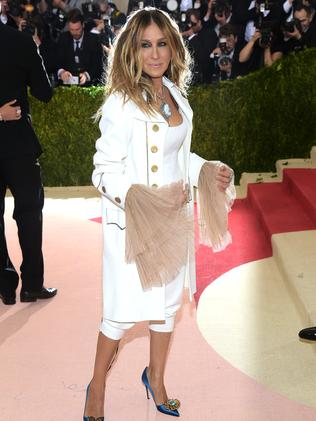 Sarah Jessica Parker the luxury pirate.