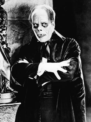 Lon Chaney in The Phantom Of The Opera silent film in 1925.