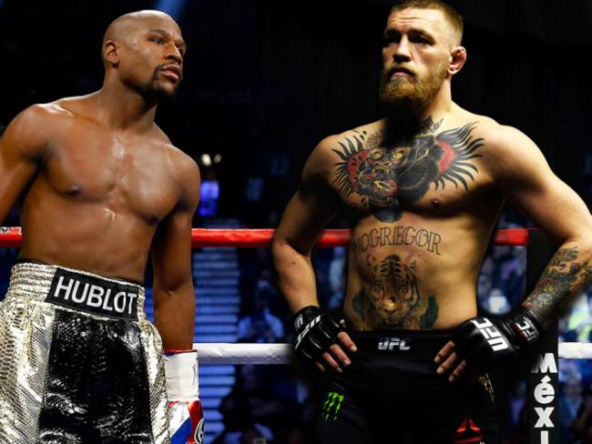 Floyd Mayweather will meet Conor McGregor.