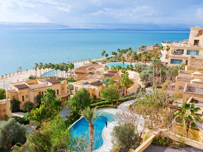 There are plenty of great resorts along the Dead Sea coast in Jordan. Picture: iStock