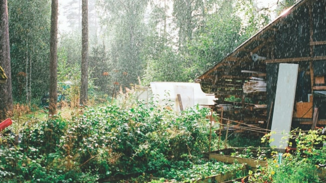 A sauna in Finland. Photo: Supplied