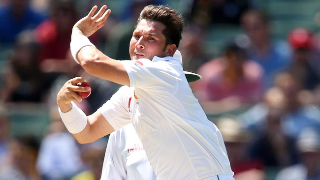 Yasir Shah will join fellow Pakistan spinner Shadab Khan. Picture: Michael Klein