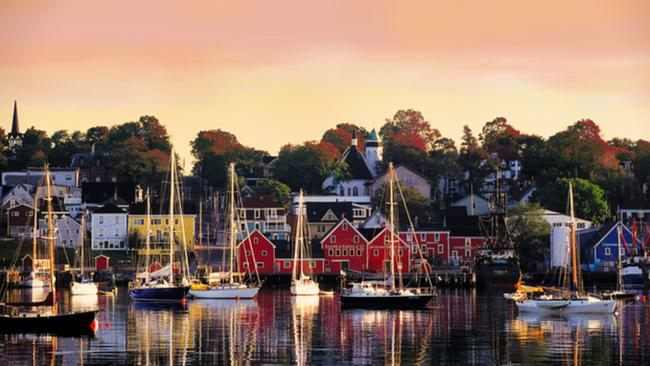 Nova Scotia's seaside fishing villages are ideal to explore on foot.