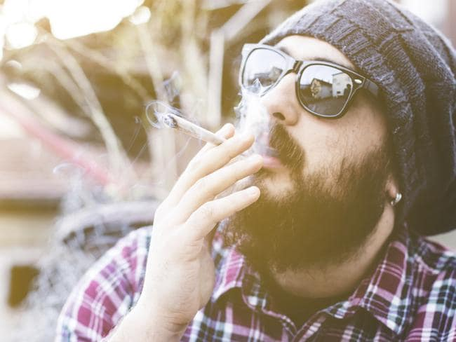 Those who smoke cannabis for five or more years had poorer verbal memory in middle age than those who smoked less, or not at all. Picture: iStock.