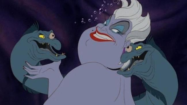 "Ursula from ""The Little Mermaid""."