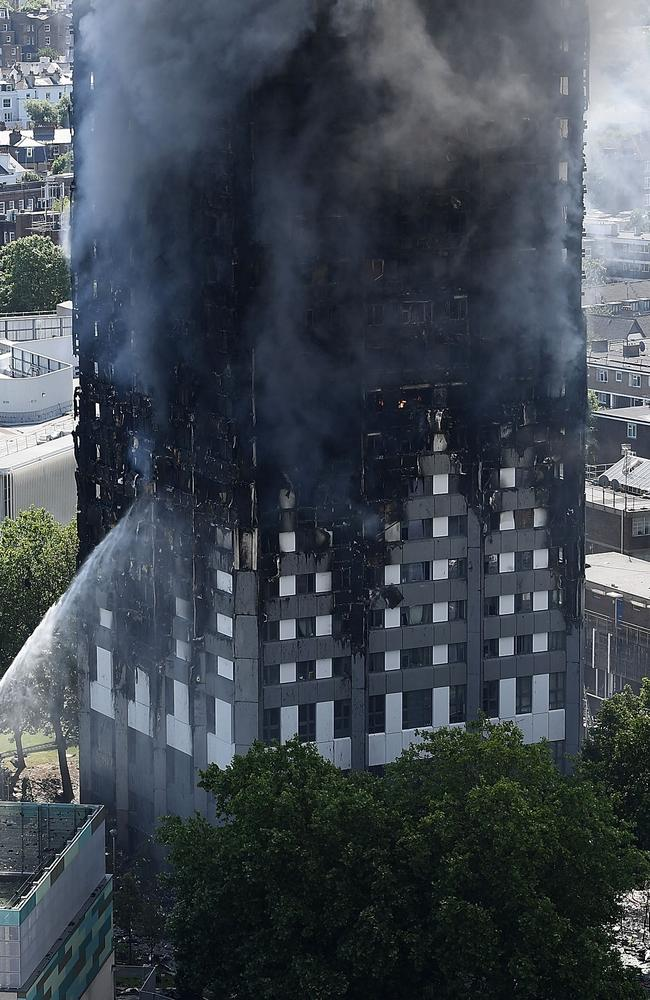 London mayor Sadiq Khan said firefighters were only able to reach the 12th floor. Picture: Carl Court/Getty Images