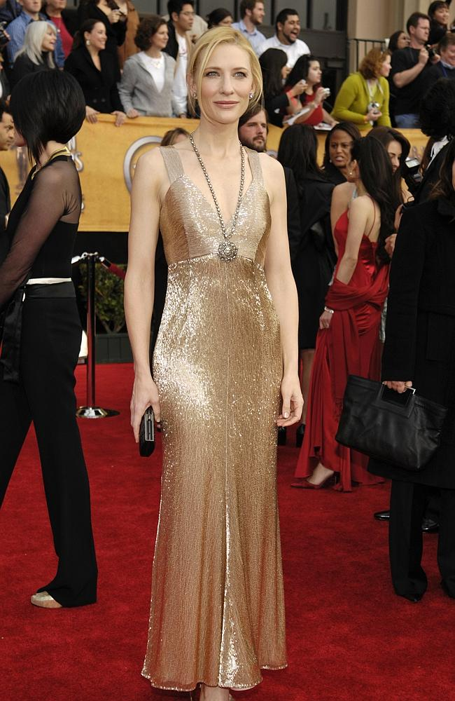 Cate Blanchett at the Screen Actors Guild Awards in Los Angeles, California 28 Jan 2007. Source: AP