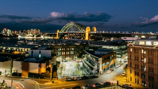 The Palisade Hotel's rooftop bar offers incredible views over some of Sydney's biggest landmarks.