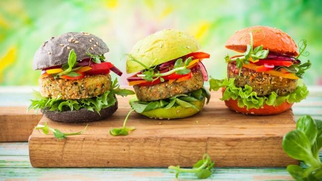 Even better. A quinoa burger!
