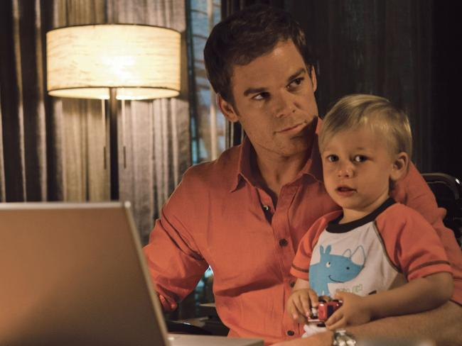 Serial killer ... Michael C. Hall in the sixth season of Showtime's cult drama Dexter.