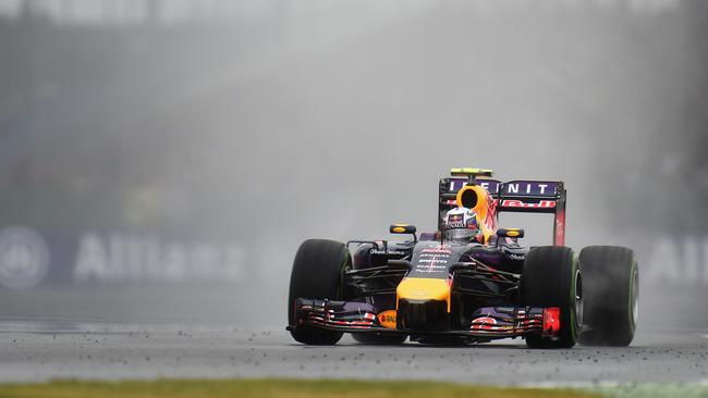 Rain blighted all the Saturday running at Silverstone.