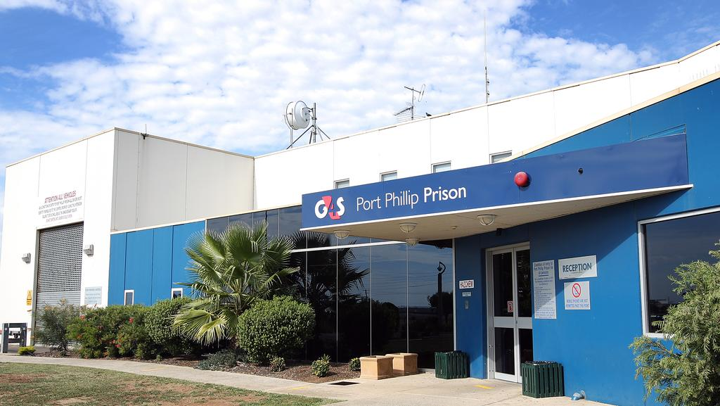 Port phillip prison inmates smuggle banned items through