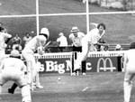 """<p>Max """"Tangles"""" Walker in action during World Series Cricket.</p>"""
