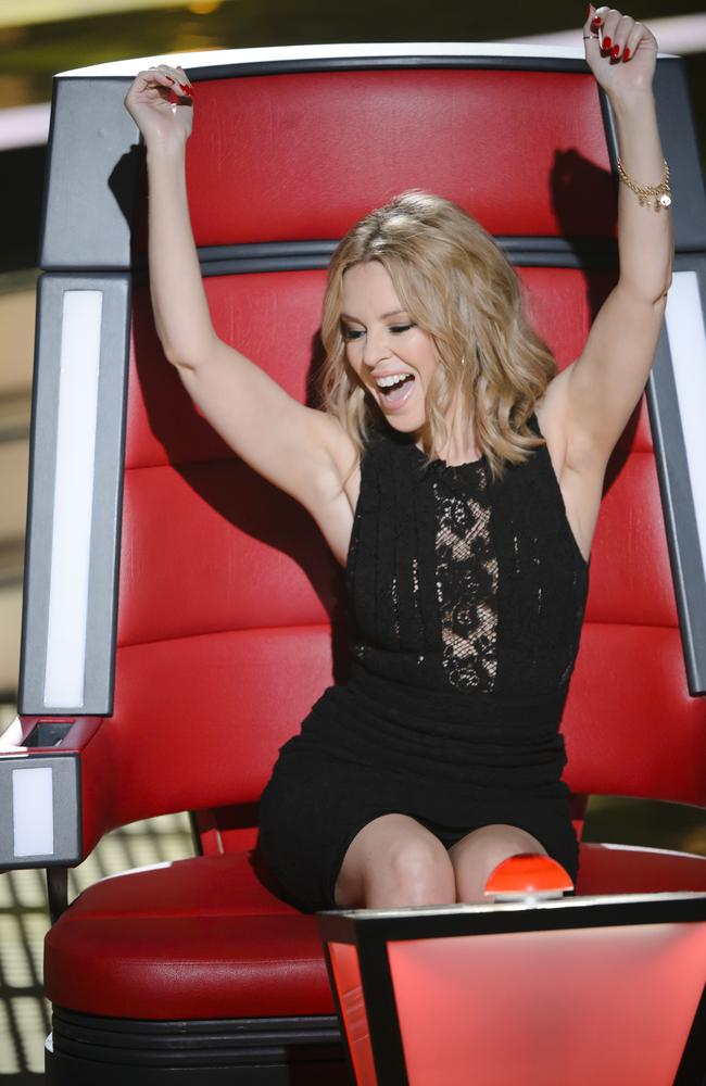 Kylie Minogue says  <i>The Voice </i>is different to her other TV experiences.