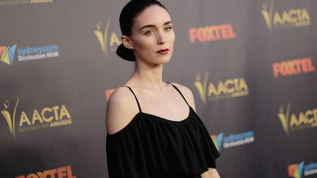 Rooney Mara at yesterday's AACTA International Awards at Avalon, Hollywood. Picture: Todd Williamson/Getty Images/AACTA.
