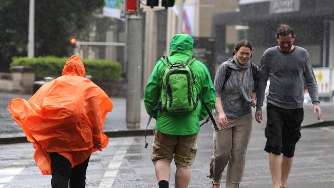 Rain and strong winds are forecast across Sydney and Newcastle for the next few days.