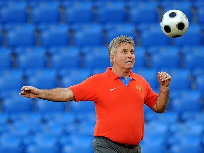 Hiddink helped the Socceroos reach the final 16 in the World Cup in Germany.