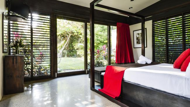 Imagine waking up to this lovely garden view in Port Douglas. Picture: Robert Walsh.