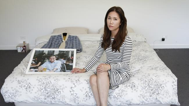 H MH370 widow Jennifer Chong was dealt another blow last year when her home was burgled. Picture: David Caird.