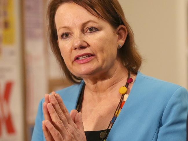 Pray - and pay - for a recovery ... Private health insurers say Australian Health Minister Sussan Ley's delays in reforming the prices of medical equipment is driving up costs.
