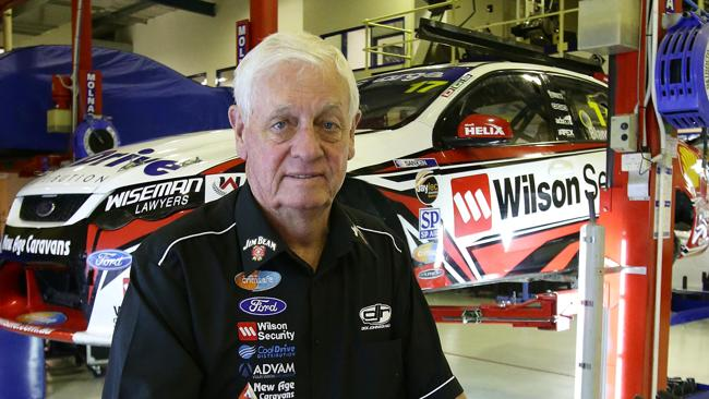 Motor racing legend Dick Johnson at his DJR headquarters at Stapylton. Picture: Peter Wallis