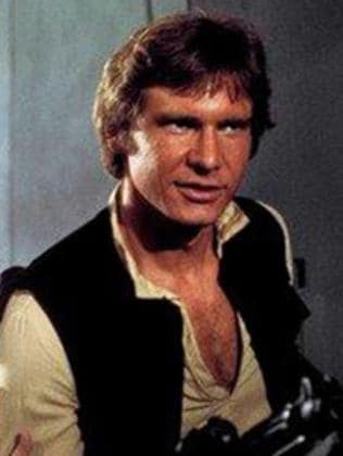 Harrison Ford rightfully as Han Solo.