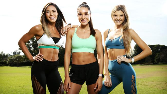 Fitness app entrepreneur Kayla Itsines says people should strive to be more honest and supportive online. Picture: Tim Hunter