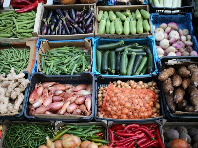 Think fruit and veges are healthy? Think again. Most contain pesticides. Photo: Christopher Furlong/Getty Images