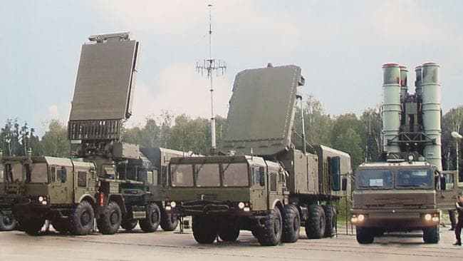 Iron dome ... The S-400 missile system is intended to protect troops and key facilities from incoming aircraft and missiles. Source: Supplied
